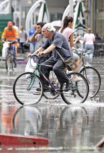 Врнежи и пад на температурите за дури дваесетина степени