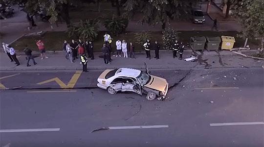 Автомобил удрил во две 15 годишни девојчиња  едното е потешко повредено