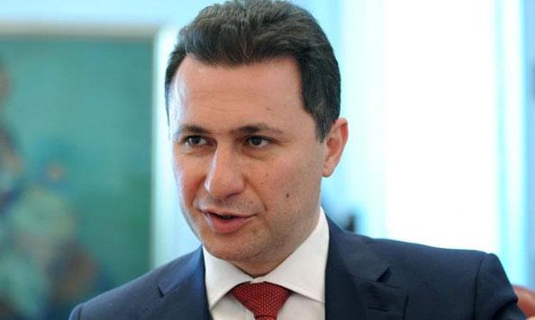 Груевски  Нека му ја мисли тој што оди против народот