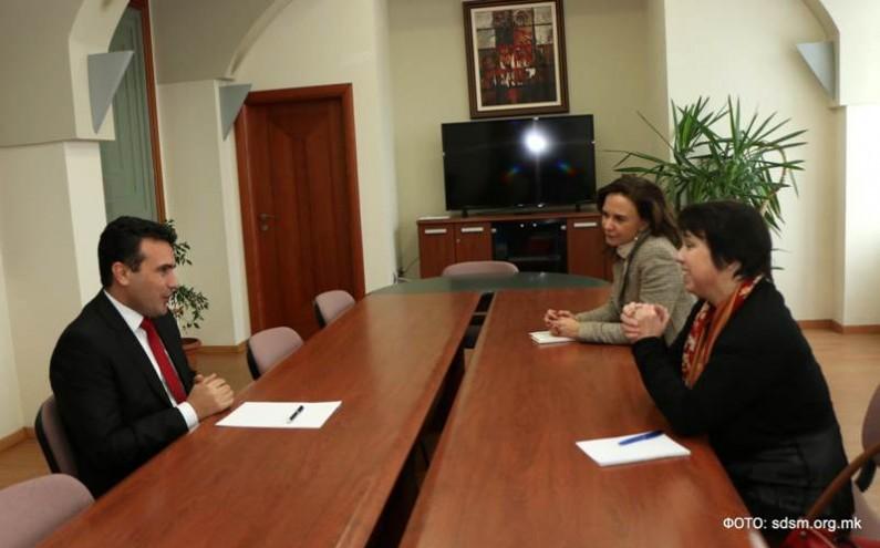 Заев и германската амбасадорка разговараа за реформи во судството