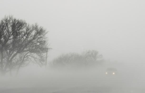 Магла на Стража и Крушево  видливоста е до 50 метри