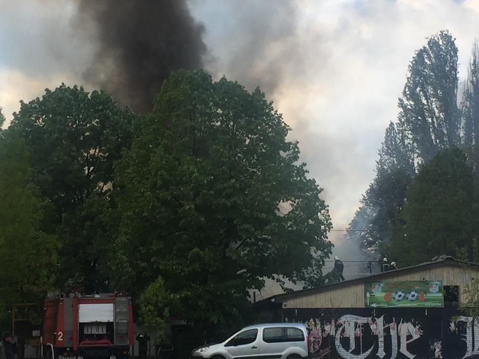 Голем пожар во Институтот за социолошки истражувања