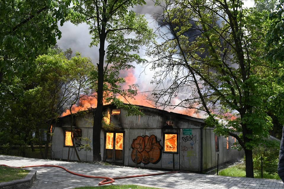 Фото галерија  Борба со голем пожар во Карпош