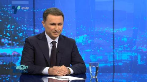 Груевски ќе се консултирал со својот ПР тим дали да прифати дуел со Заев
