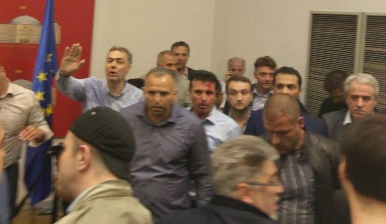 За време на насилствата  телефонот на Чавков најмногу се појавувал на станицата ВМРО