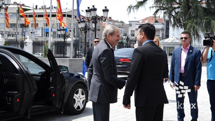 Започна средбата Хан Заев