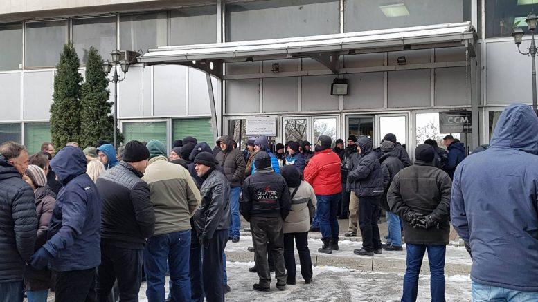 Архива  Разработена шема за задушување на Генерален штрајк  Преку ден синдикалци  вечер врвни вмровци