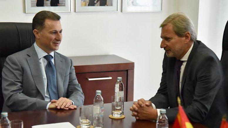 Груевски  Сакаме што побрзо да ја видиме Македонија во ЕУ и НАТО