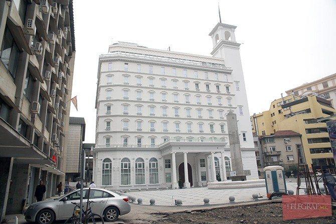 СЈО се откажува од барањето за замрзнување на Белата палата на ВМРО ДПМНЕ