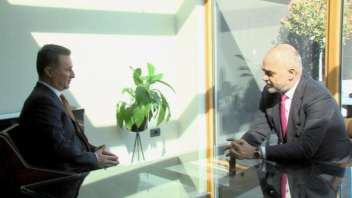 Груевски го предупреди Рама дека Тиранската платформа нема да придонесе за пријателството