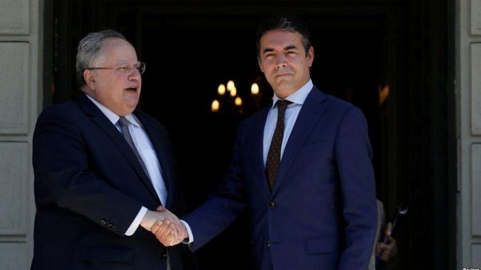 Македонија и Грција ќе формираат работни групи кои ќе преговараат за името