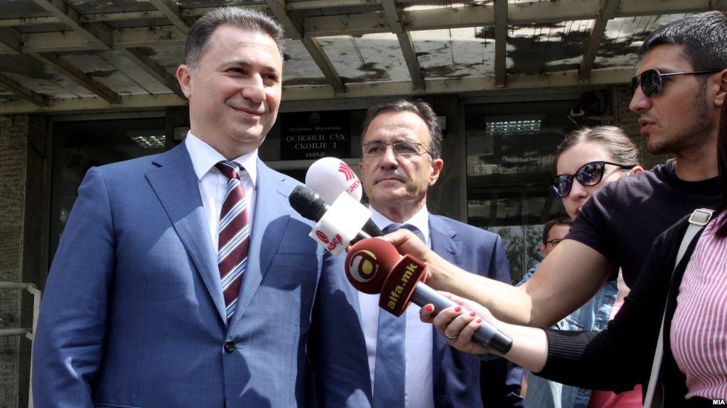 Груевски  Толку често доаѓам во суд што треба да ми дадат канцеларија и плата