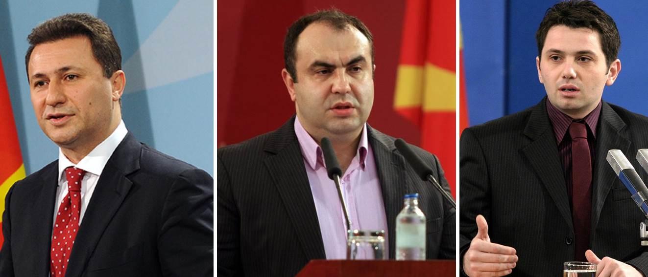 Груевски  Јанакиески и Пешевски денеска на обвинителна клупа за  кинеските провизии
