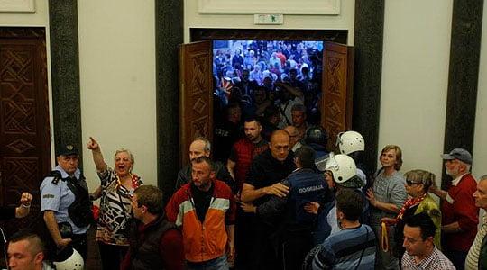 Пратеникот Сашо Василевски не сакал да присуствуа на јавната седница во Апелација