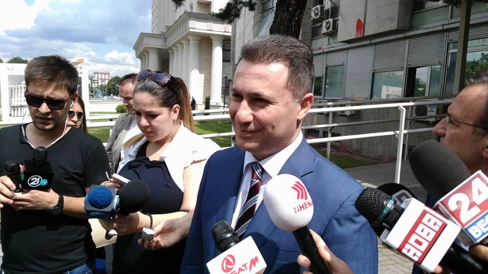 Груевски  Се повеќе се чувствувам како во Процесот Кафка