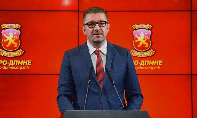 Мицкоски  Заев ќе има поддршка од ВМРО ДПМНЕ само ако не потпаѓа под уцените кои се на штета на државата