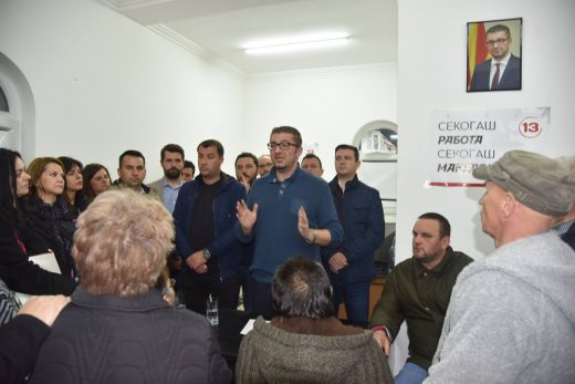 Мицкоски  Граѓаните ме дочекаа со солзи во очите  велат Македонија е киднапирана држава во рацете на СДСМ